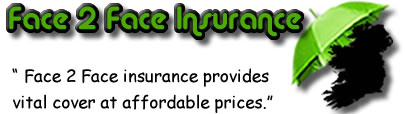 Logo of Face to Face insurance Ireland, Face to Face insurance quotes, Face to Face insurance reviews